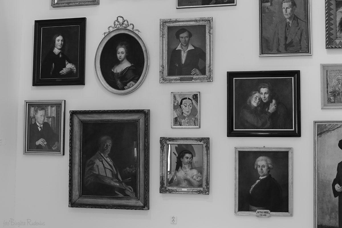 Porträtt, Skissernas Museum, Lund