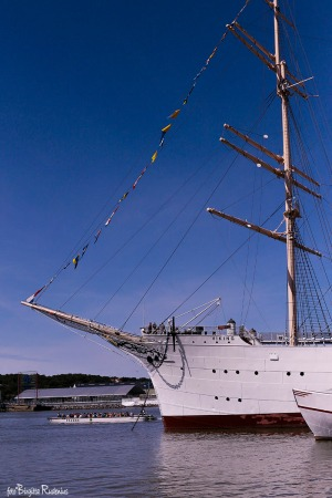 Ship in Gothenburg