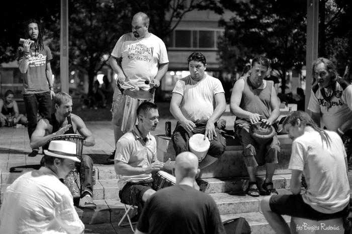 Drums at Deák Tér Budapest