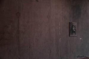Porträtt på vägg