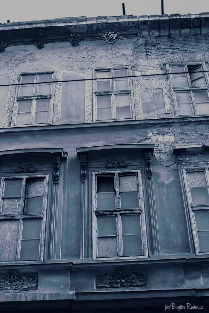 Blue Open Window