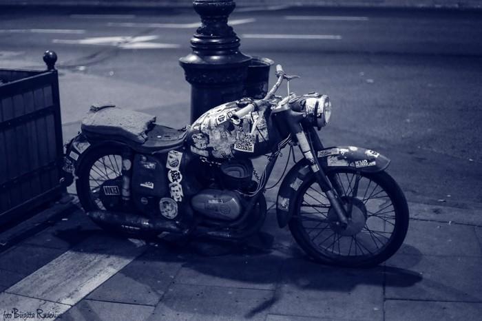 Blue MC Bike