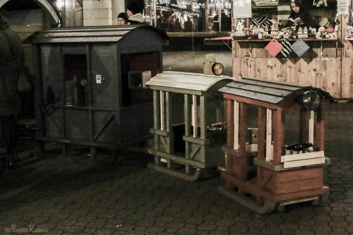 X-mas market train