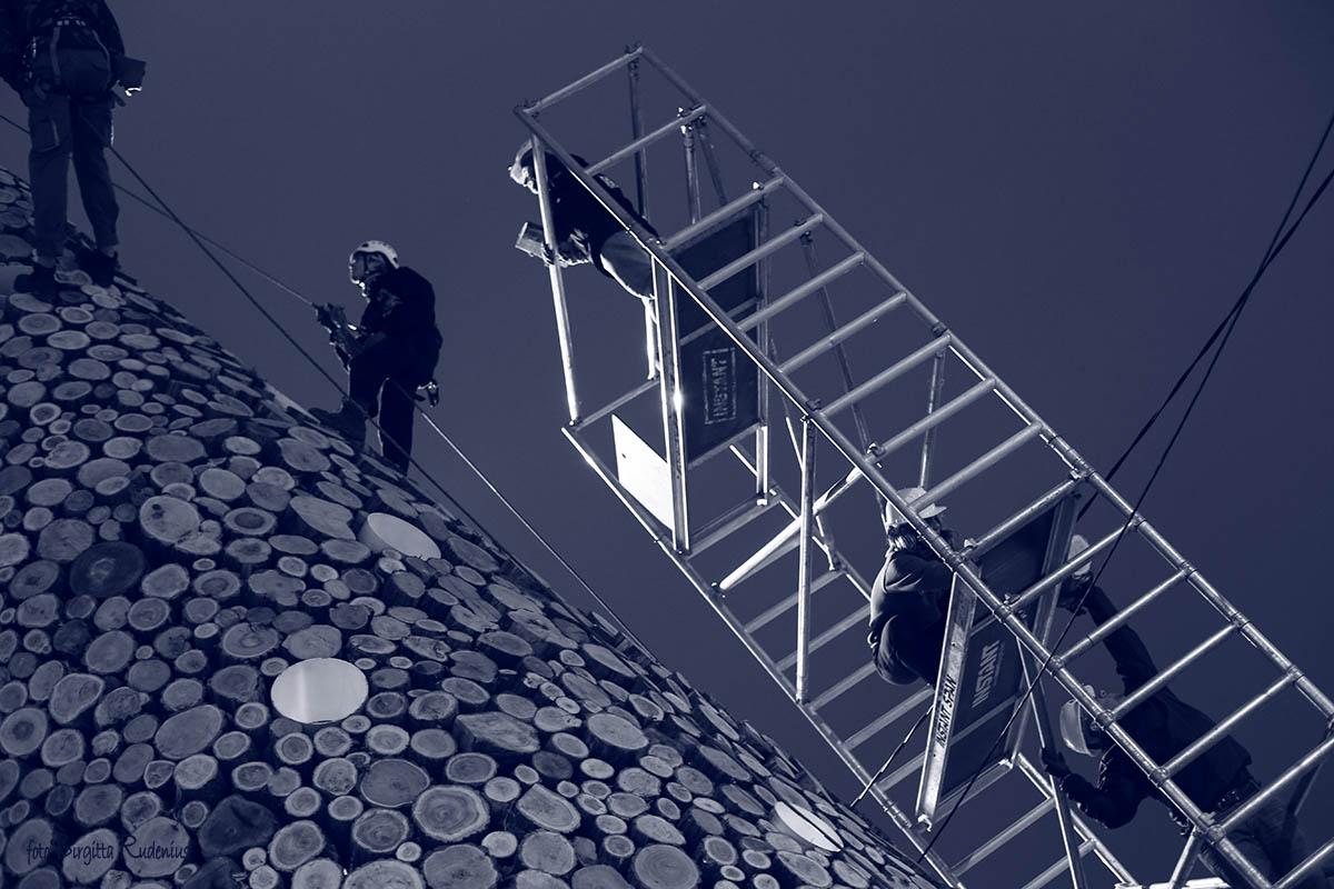 Blue Ladder Work