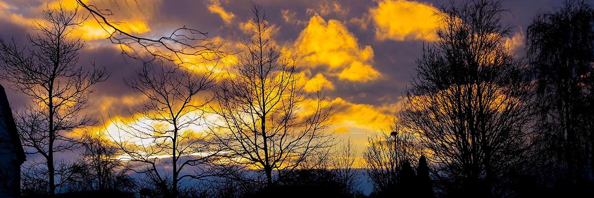 Sunset - Lund, Sweden